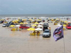 Um pedaço da costa atlântica no Pará